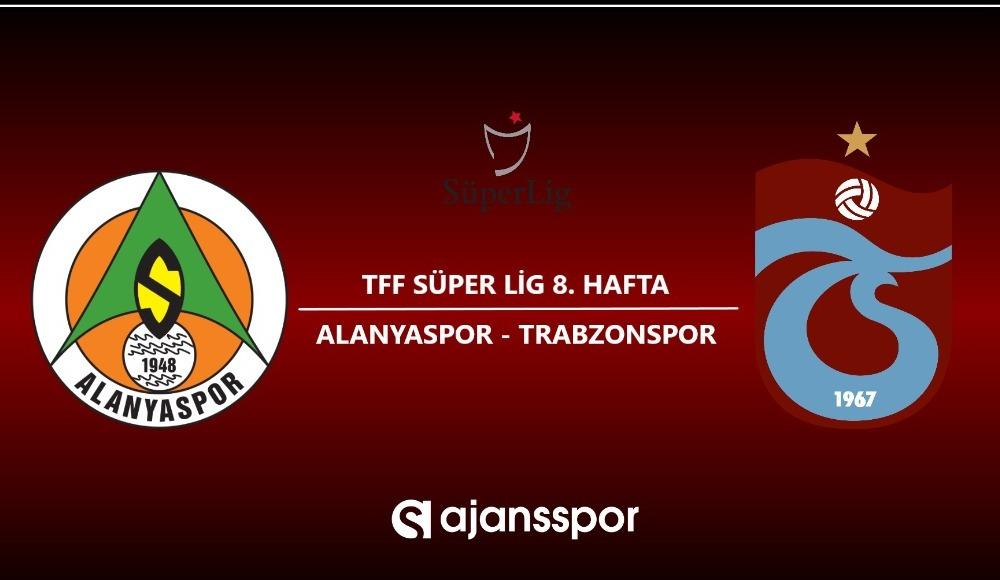 HD canlı maç izle: Alanyaspor - Trabzonspor