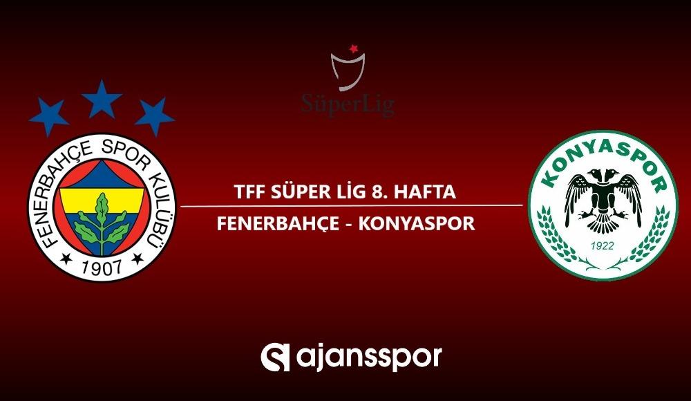 HD canlı maç izle: Fenerbahçe - Konyaspor