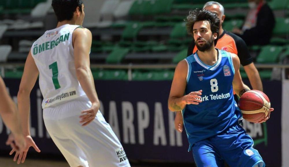 Bursa'da NBA maçı gibi karşılaşmada kazanan Türk Telekom