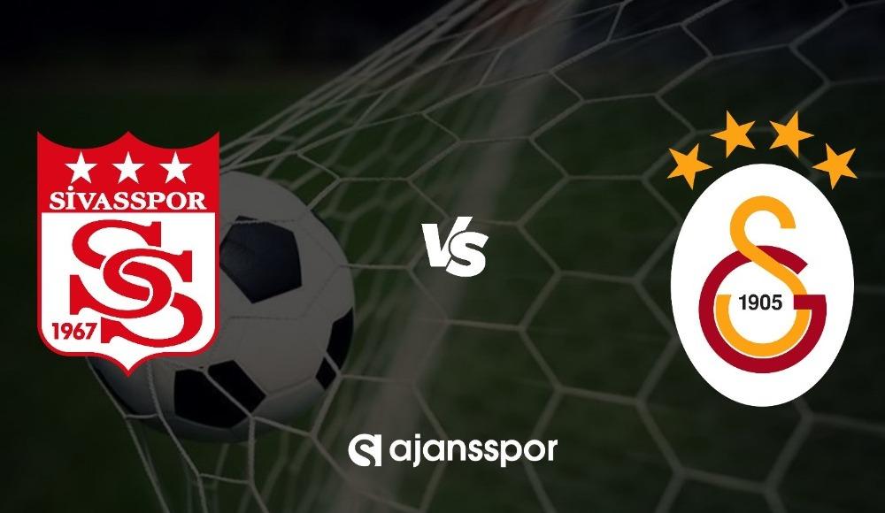 Sivasspor - Galatasaray (LİG TV | Bein Sports 1 izle)