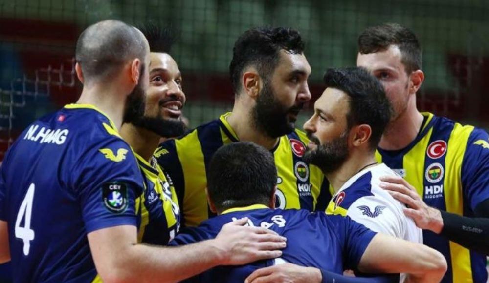Fenerbahçe set bile vermeden kazandı