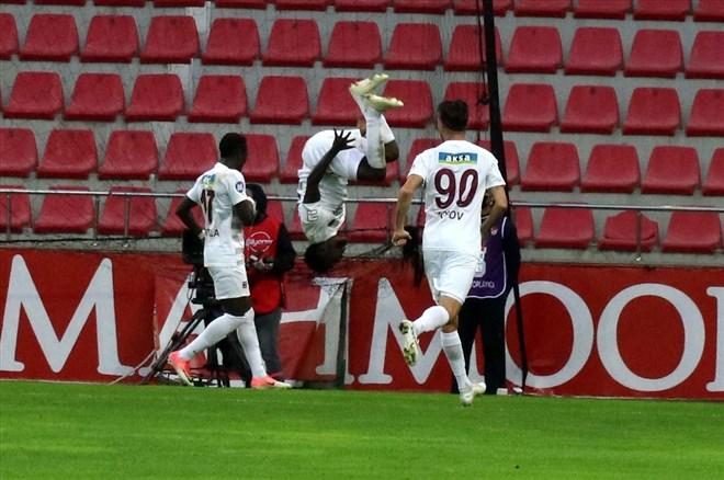 Diouf attı, Hatayspor deplasmanda ilk kez kazandı