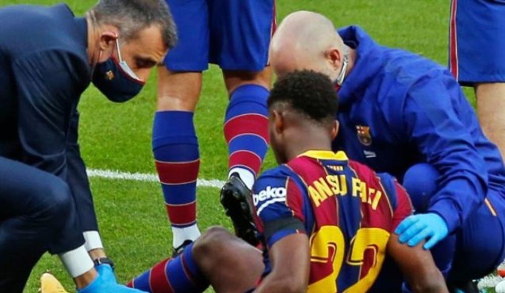 Barcelona'da Ansu Fati şoku! Kaç ay yok?