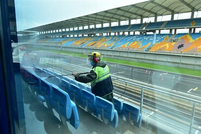 Tuzla, Formula 1 yarışları için hazır