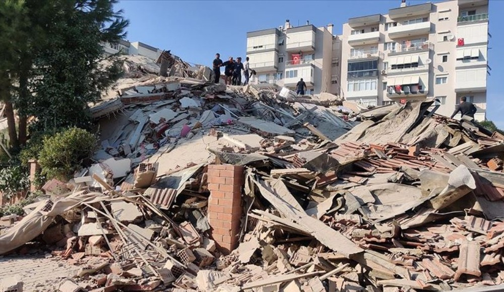 İzmir'de bir deprem daha! 4.8...