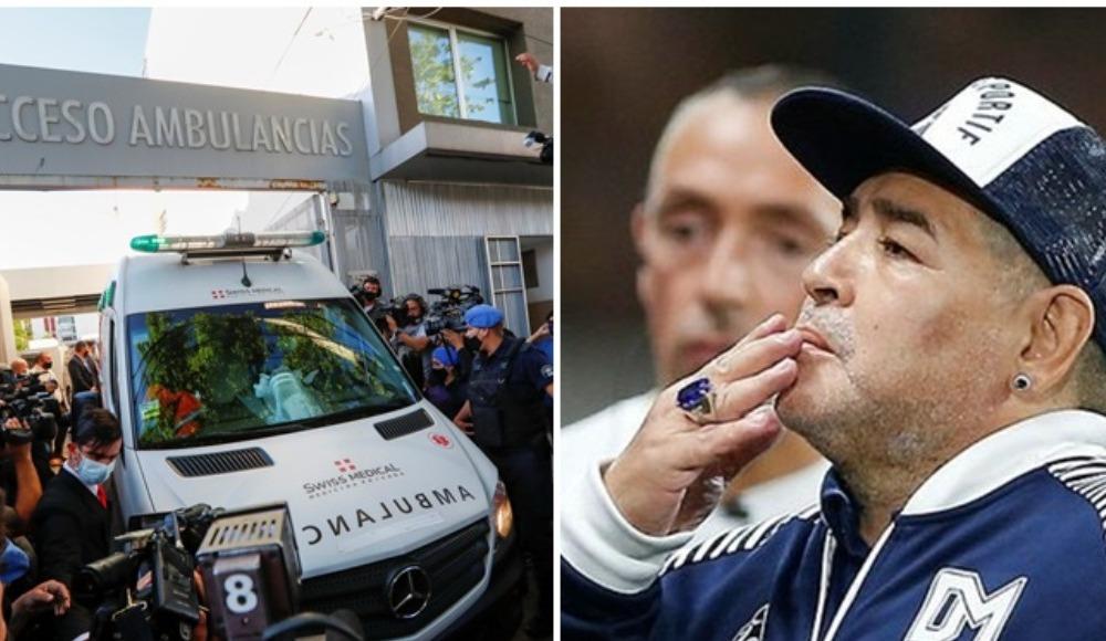 Ve Maradona hastaneden ayrıldı! İşte son durumu...