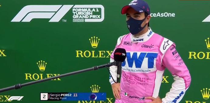 """Sergio Perez: """"Kaotik bir yarıştı"""""""