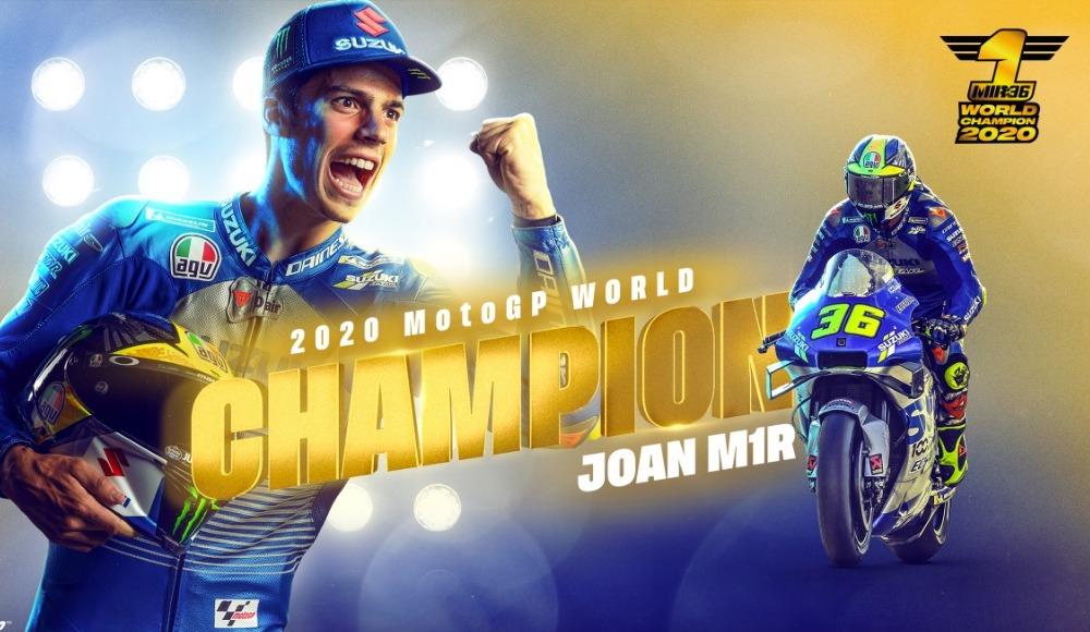 MotoGP'de şampiyon Joan Mir