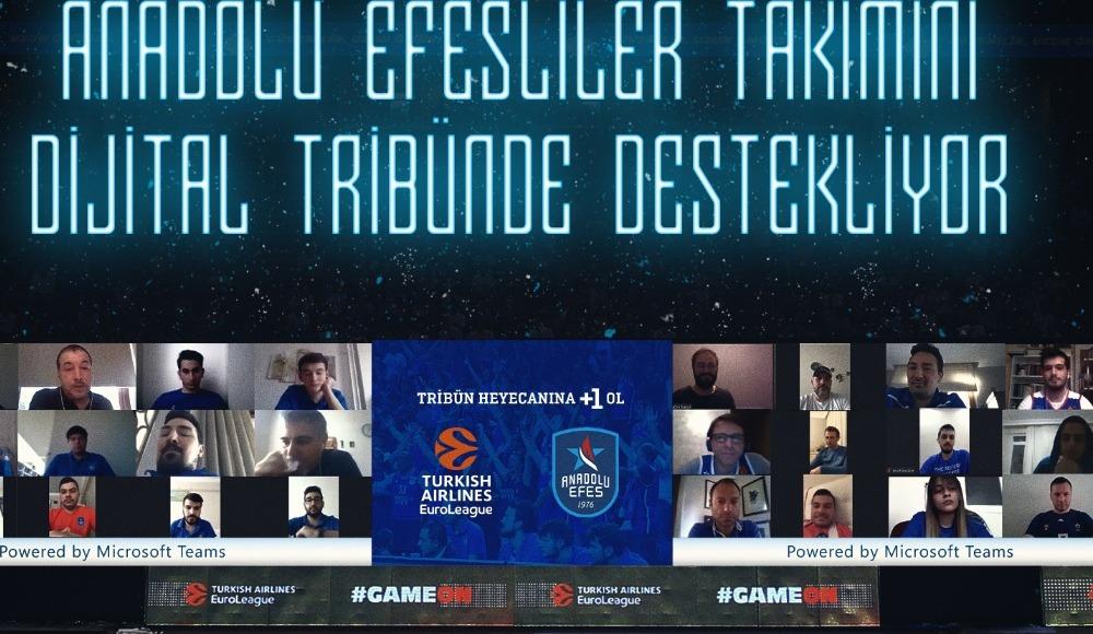 Anadolu Efes'ten dijital tribün uygulaması