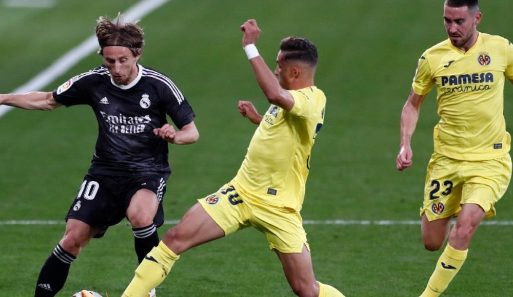 Real Madrid, Villarreal deplasmanında puan bıraktı