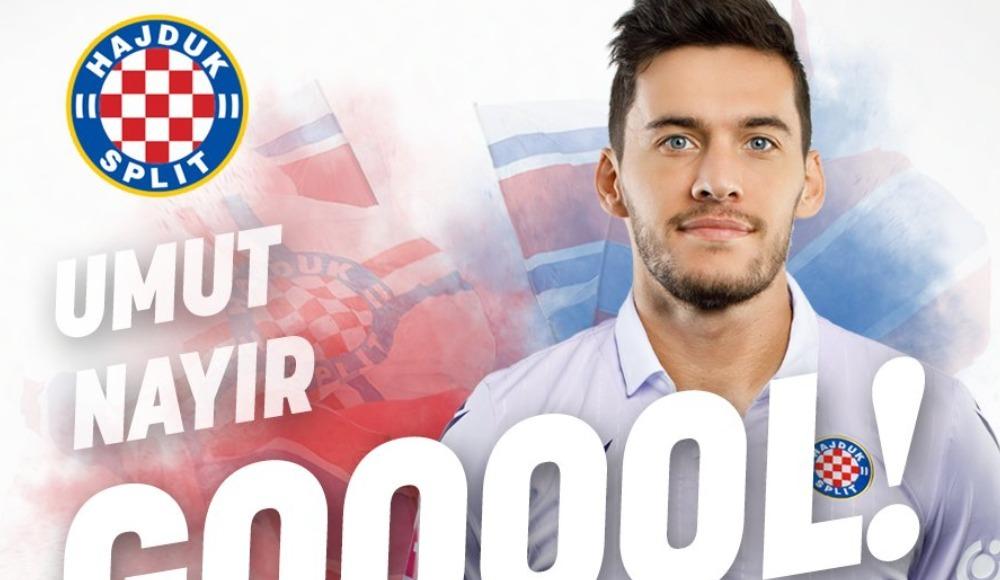 Umut Nayir attı, Hajduk Split kazandı