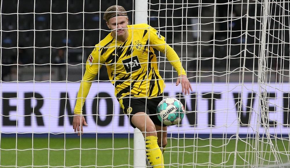 Erling Haaland'dan müthiş performans! 4 gol birden...