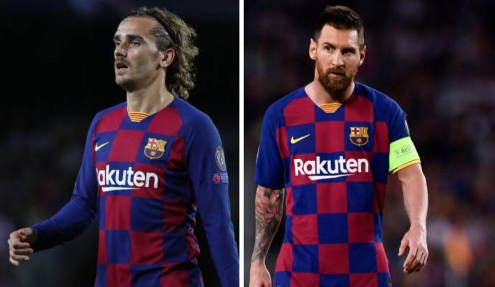 Barcelona taraftarlarından Griezmann'a tepki! 'Messi'ye saygı göster'