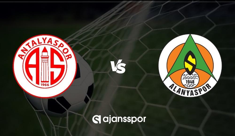 Antalyaspor - Alanyaspor maçı canlı izle!