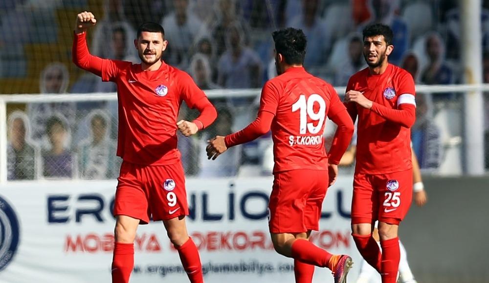 Ankara Keçiörengücü, Akhisarspor'a gol oldu yağdı!