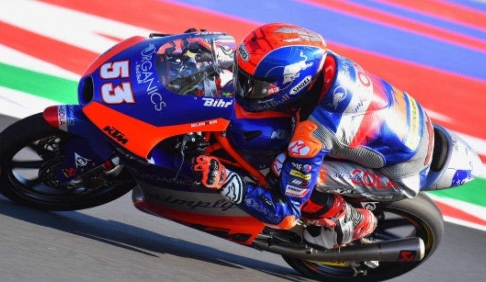 Milli motosikletçi Deniz Öncü, Portekiz'de 10. oldu