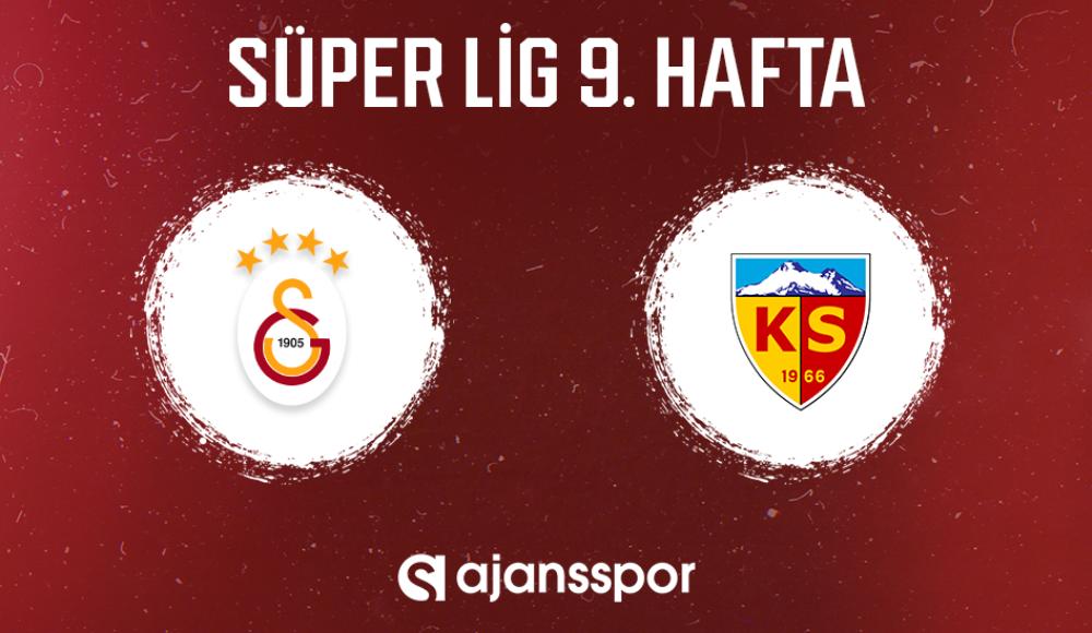 CANLI İZLE | Galatasaray - Kayserispor