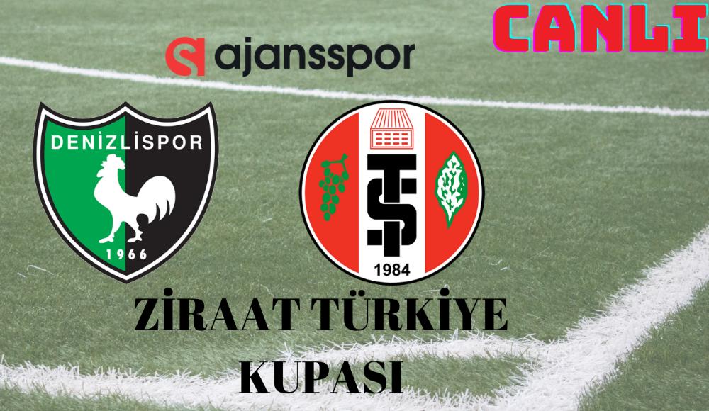 CANLI | Denizlispor - Turgutluspor maçını izle