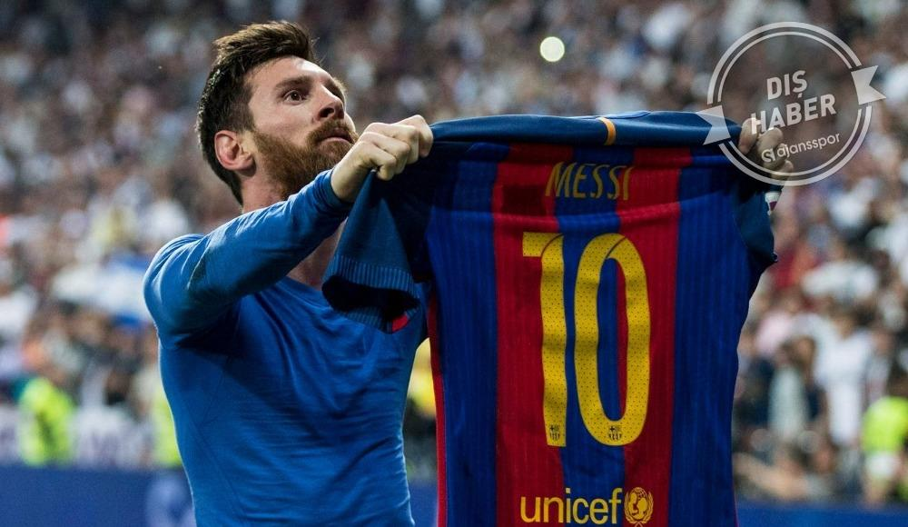 Lionel Messi için 10 yıllık teklif... Premier Lig'e mi gidiyor?