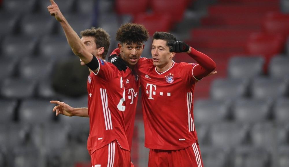 Bayern Münih gruptan çıkmayı garantiledi