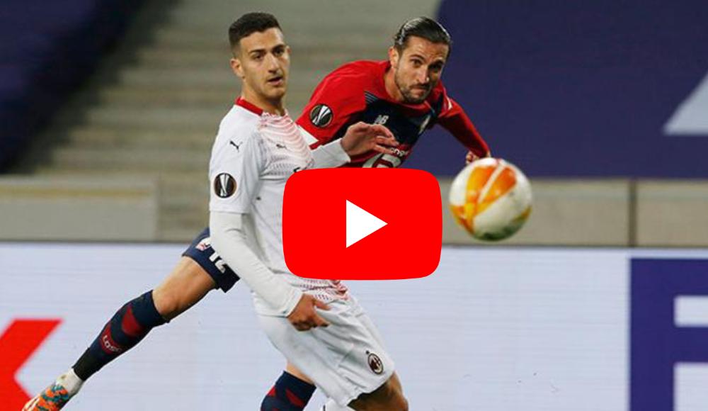 ÖZET İZLE | Lille - 1-1 Milan maçın özetini izle
