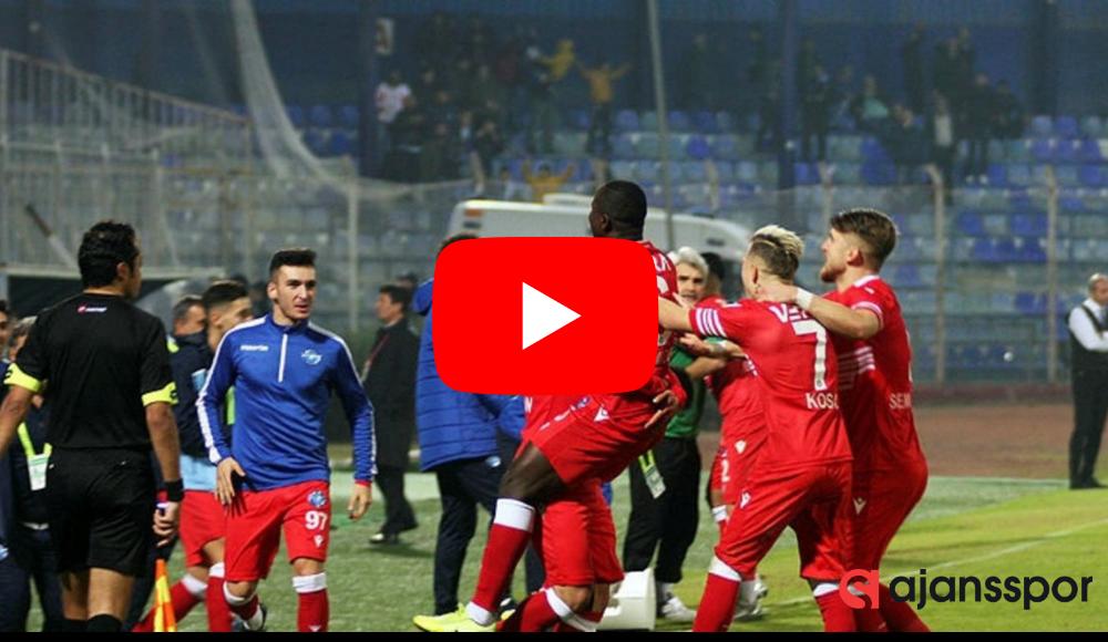 ÖZET İZLE | Erzurumspor 3-2 Ankara Demirspor maçın özetini izle