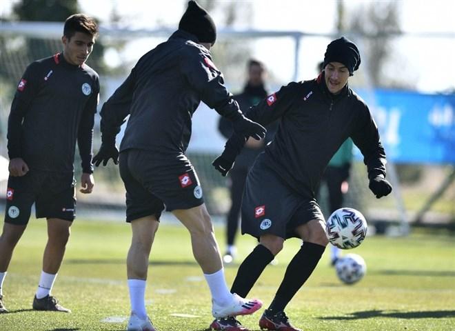 Konyaspor, Alanyaspor hazırlıklarını sürdürdü