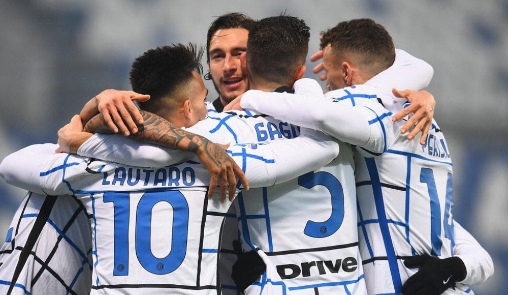 Inter Sassuolo deplasmanında galip