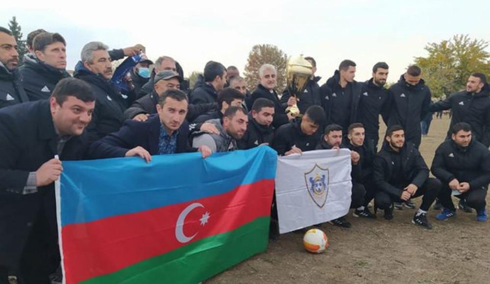 Ağdam bölgesinin futbol takımı Karabağ 27 yıl sonra...
