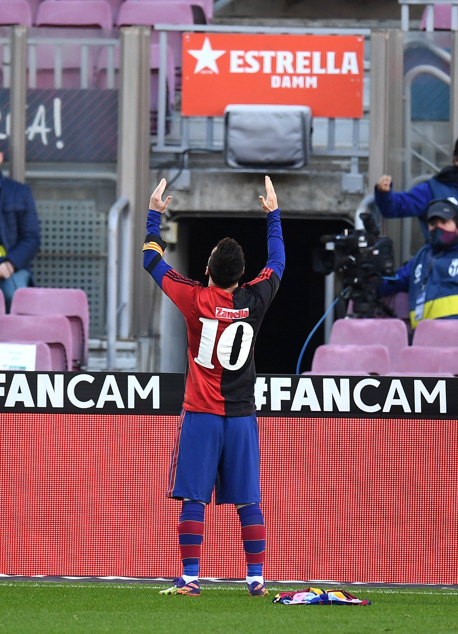 Messi, Maradona'yı unutmadı