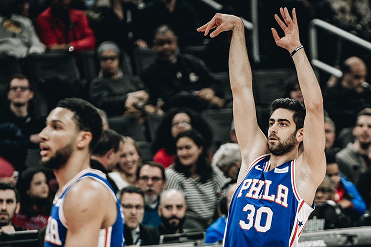 3) Philadelphia 76ers
