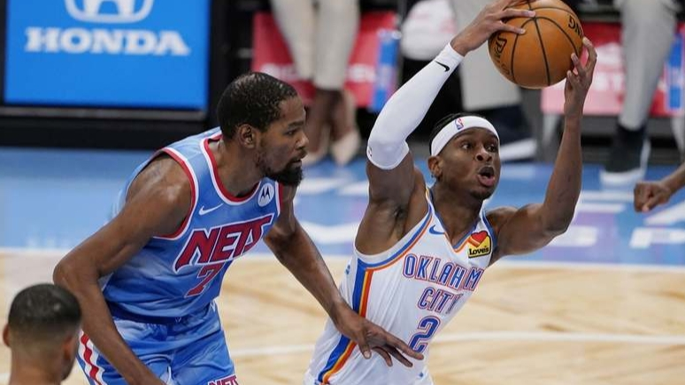 Thunder, Nets deplasmanında kazandı