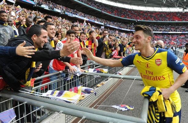 """""""Arsenal taraftarı onu iyi hatırlayacak"""""""