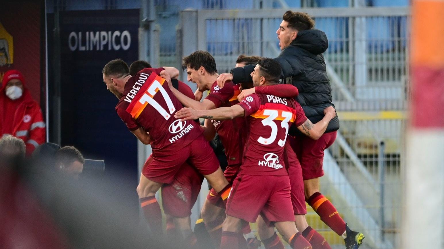 Roma, Spezia'dan kupanın rövanşını ligde aldı
