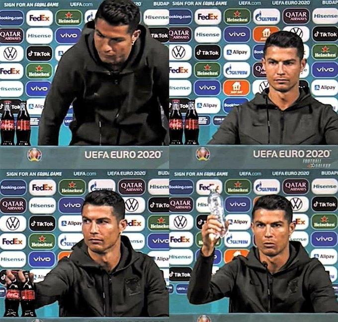 Ronaldo'nun Coca Cola reaksiyonu 4 milyar Dolar'a mal oldu - Blog Gazetesi  Son Dakika Haberleri Güncel Haberler