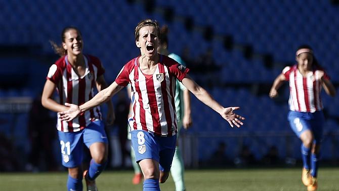 Kadınlar futbolu ''El Clasico''su Atletico Madrid'in