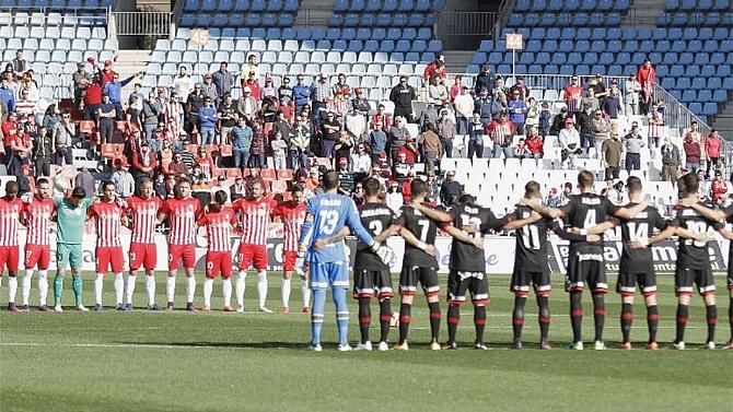 İspanya'da maçlardan önce saygı duruşu