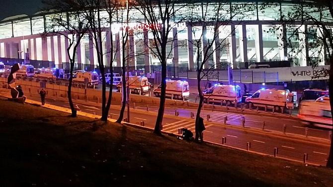 Vodafone Arena yakınında patlama!
