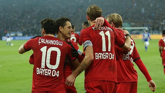 Bayer Leverkusen deplasmanda kazandı