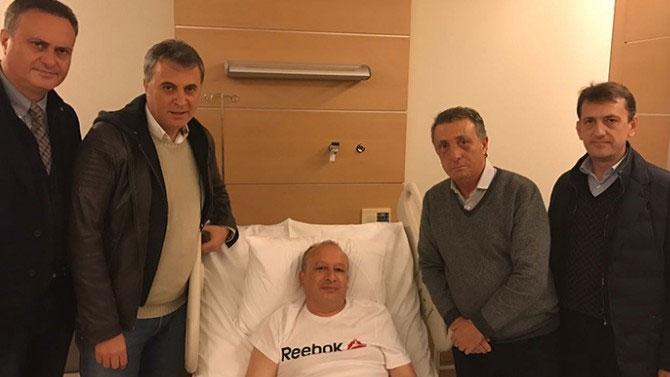 Beşiktaş yönetiminden ziyaret...