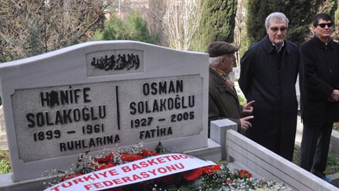 Osman Solakoğlu unutulmadı..