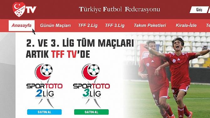 Alt ligler için TFF TV projesi!