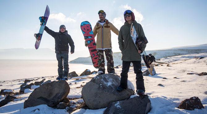 Snowboardculardan Nusret akımı!