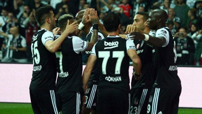 Beşiktaş yükseliyor!
