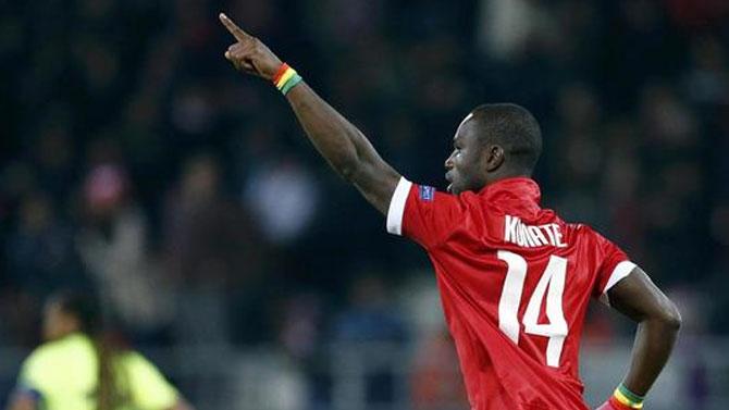 Trabzonspor'a haber yolladı!