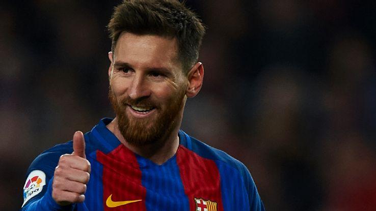 Messi yeni sözleşme imzalıyor