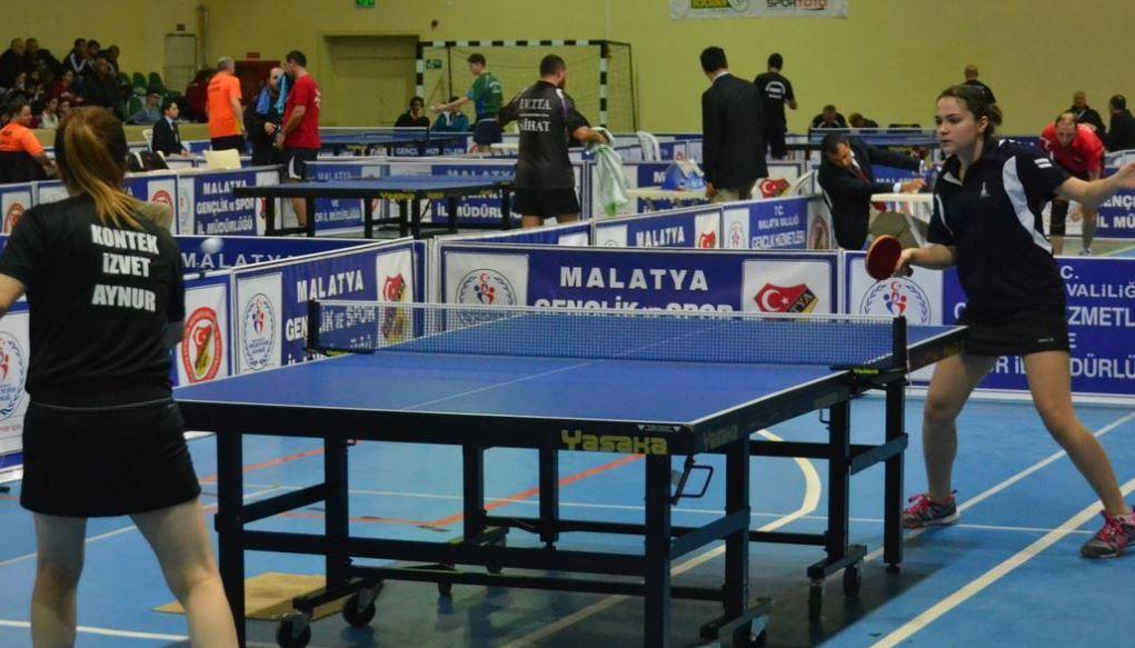 Masa Tenisi Şampiyonası başladı!