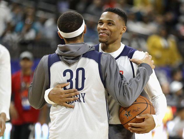 Westbrook'tan Curry'ye sert yanıt!