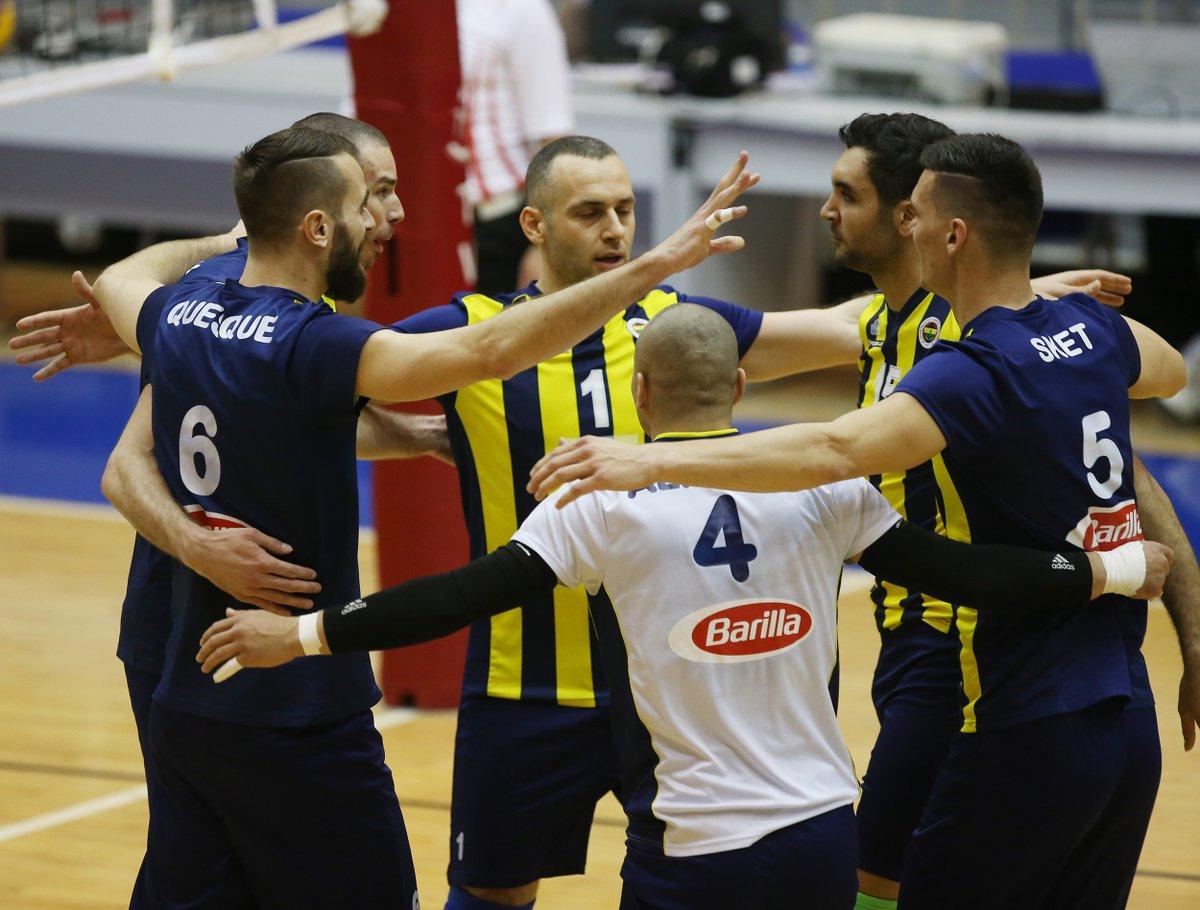 Fenerbahçe evinde set vemedi!