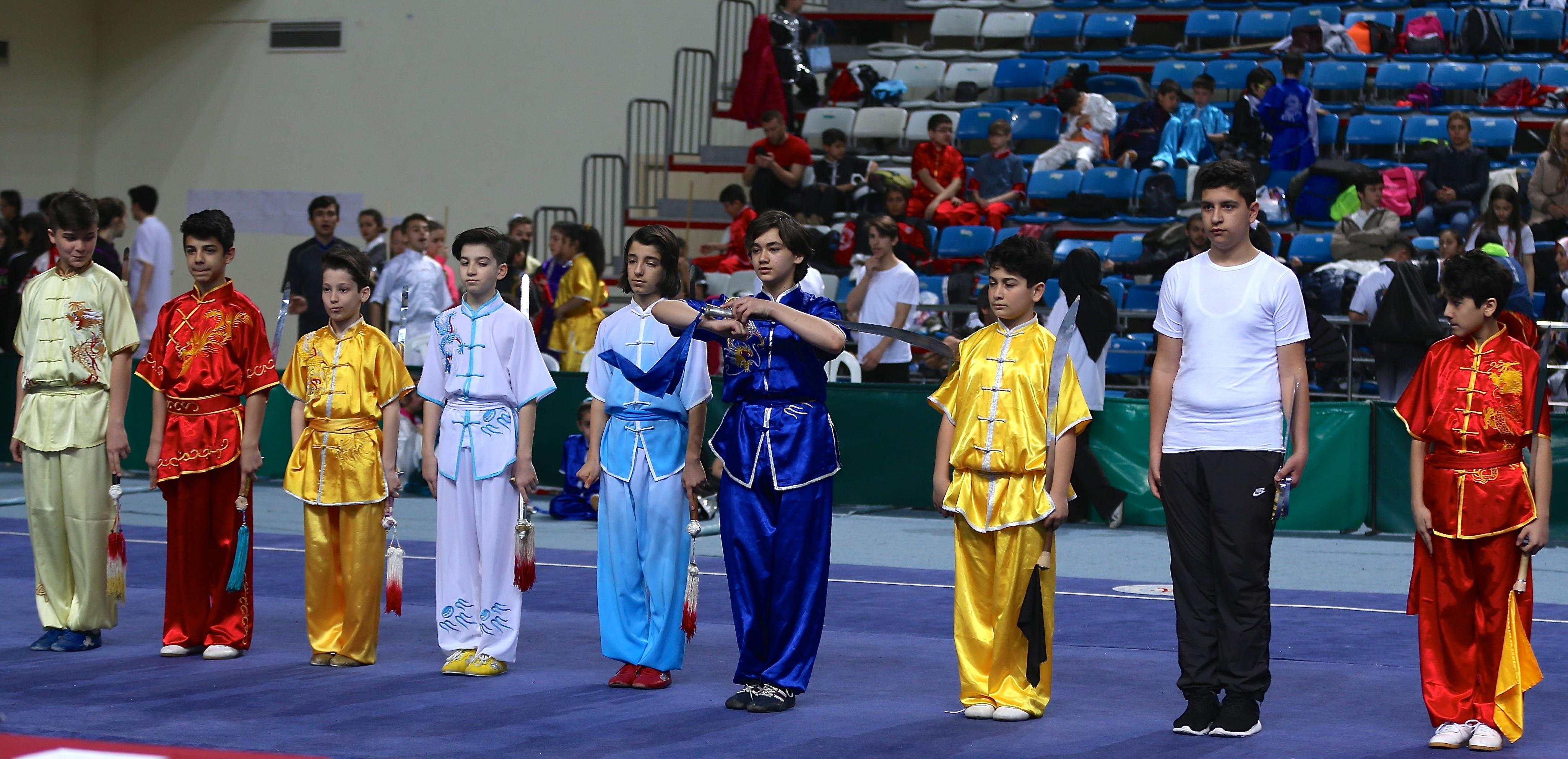 Geleneksel Wushu Şampiyonası sona erdi